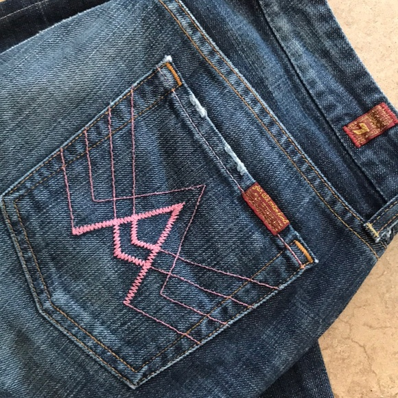 7 For All Mankind Denim - Size 29, 7 For All Mankind A pocket jean